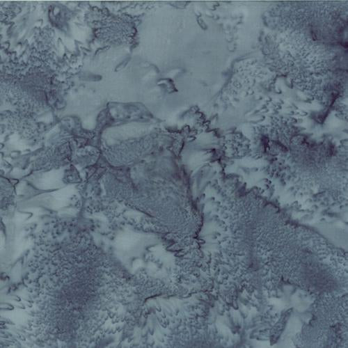 Mottled Dark Gray Batik Cotton Fabric available at Colorado Creations Quilting