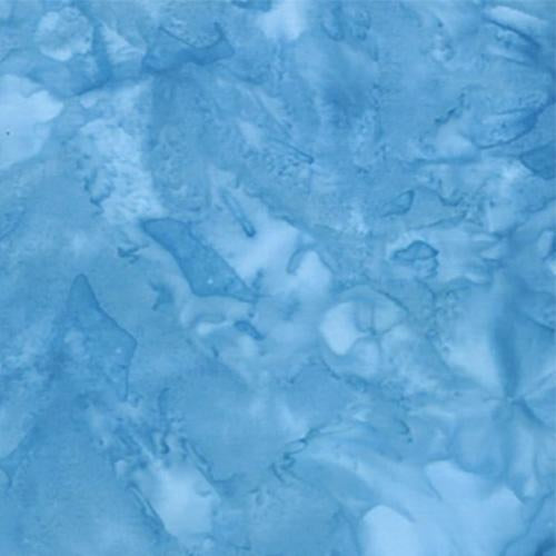Mottled Blue Batik Cotton Fabric available at Colorado Creations Quilting