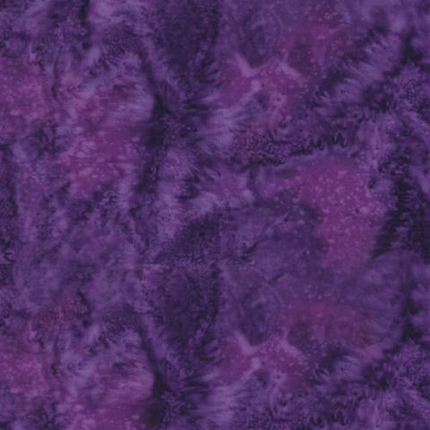 Mottled Vegas Purple Batik Cotton Fabric available at Colorado Creations Quilting