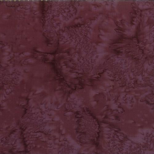 Mottled Dark Violet Batik Cotton Fabric available at Colorado Creations Quilting