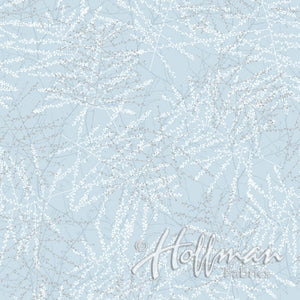 Twigs on Light Blue Background available at Colorado Creations Quilting