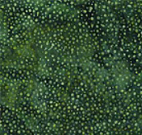 Bali Dots Hunter Green Batik Cotton Fabric available at Colorado Creations Quilting