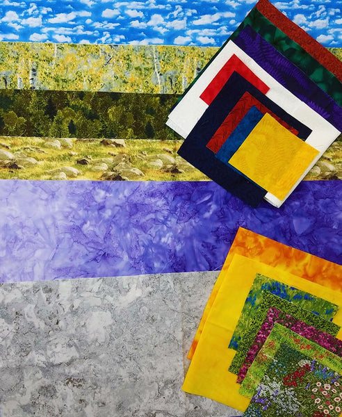 Soaring Over the Rockies Quilt Kit