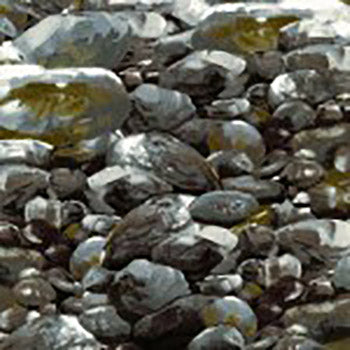 gray rocks/boulders cotton fabric available at Colorado Creations Quilting