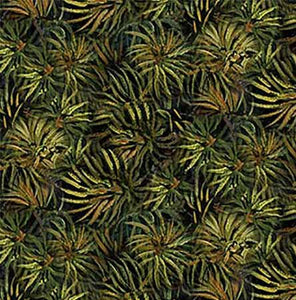 Green Pine Needles Cotton Fabric available at Colorado Creations Quilting
