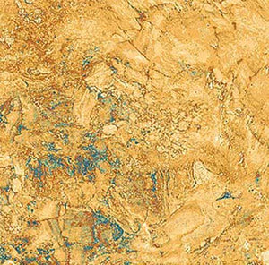 This rock formation cotton fabric in shades of copper (tan) with hints of green by Northcott Fabrics. Available at Colorado Creations Quilting