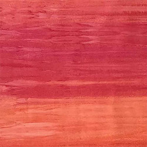 Striated (striped) Peach and Pink Batik Cotton Fabric available at Colorado Creations Quilting