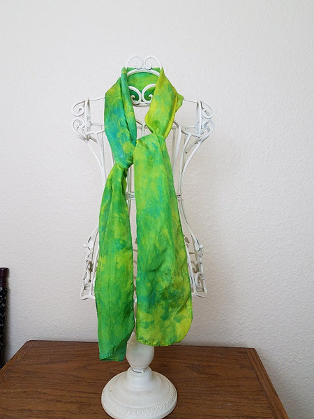 Hand-dyed Silk Scarves by Colorado Creations Quilting