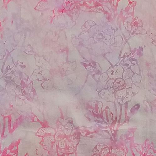 A great pale pink tonal fabric featuring blooming flowers. Available at Colorado Creations Quilting