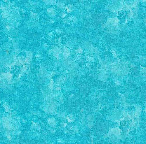 Turquoise tonal texture fabric
