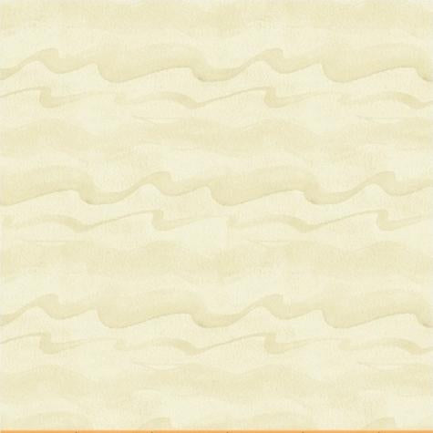 Cream Waves Cotton Fabric by Windham Fabrics