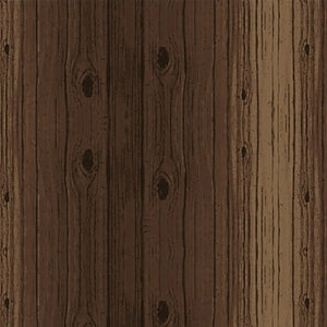 medium brown wood grain planks cotton fabric available at Colorado Creations Quilting