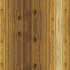 light brown wood grain planks cotton fabric available at Colorado Creations Quilting