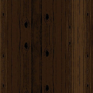 dark brown wood grain planks cotton fabric available at Colorado Creations Quilting