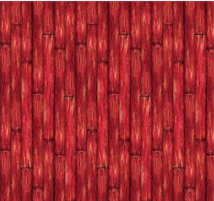 This cotton fabric features weathered-looking red barn wood slats, perfect for the next barn, wooden boardwalk, wood frame or any number of other uses in your next art quilt or  craft project. Available at Colorado Creations Quilting