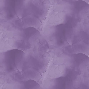 Purple Mottled Cotton Fabric by Wilmington Prints