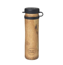 Load image into Gallery viewer, 'Not Just A Bottle' Bamboo SPORT black