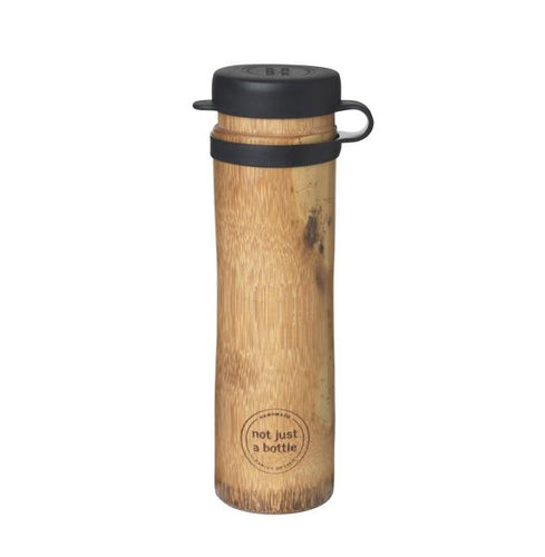 'Not Just A Bottle' Bamboo SPORT black