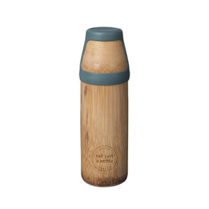 'Not just A Bottle' Bamboo YOGA Large green