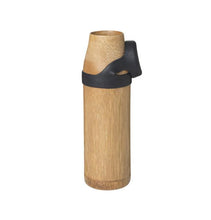 Load image into Gallery viewer, 'Not just A Bottle' Bamboo YOGA Large black