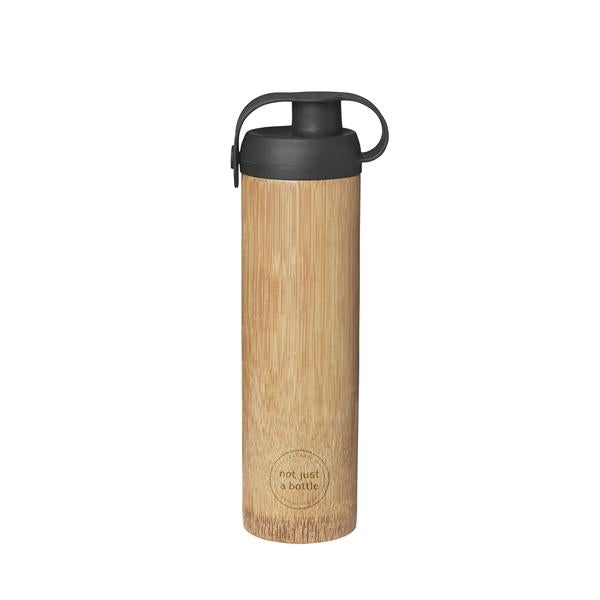 'Not Just A Bottle' Bamboo LIFE black