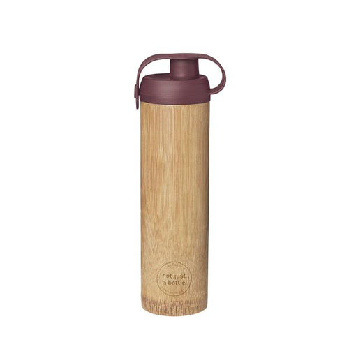 'Not Just A Bottle' Bamboo LIFE red