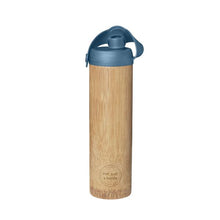 Load image into Gallery viewer, 'Not Just A Bottle' Bamboo LIFE blue
