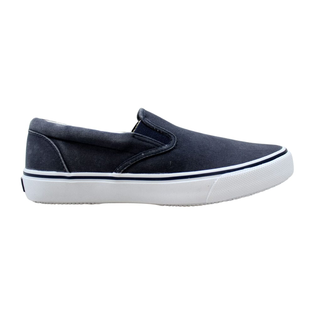 Sperry Striper Slip On Navy  0457374 Men's