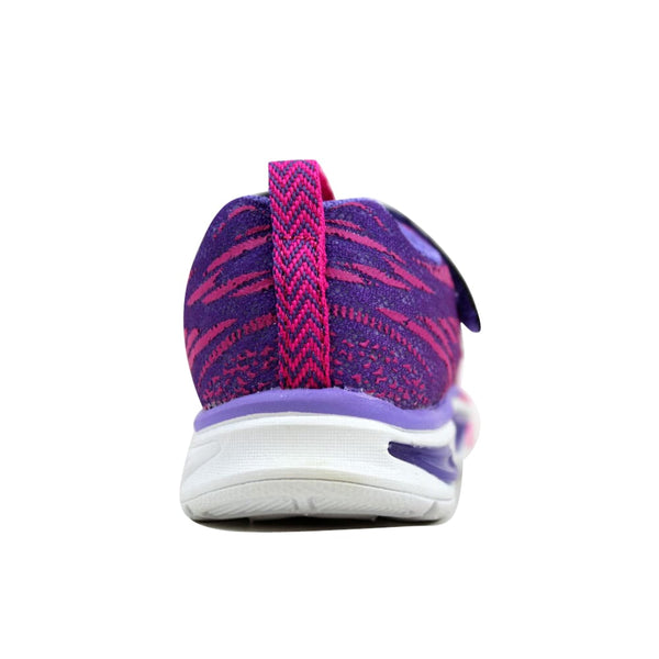Skechers S Lights Litebeams Hot Pink/Purple 10667N/HPPR Toddler
