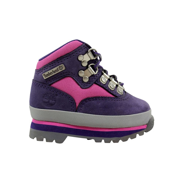 Timberland Euro Hiker Purple/Pink 1081A Toddler