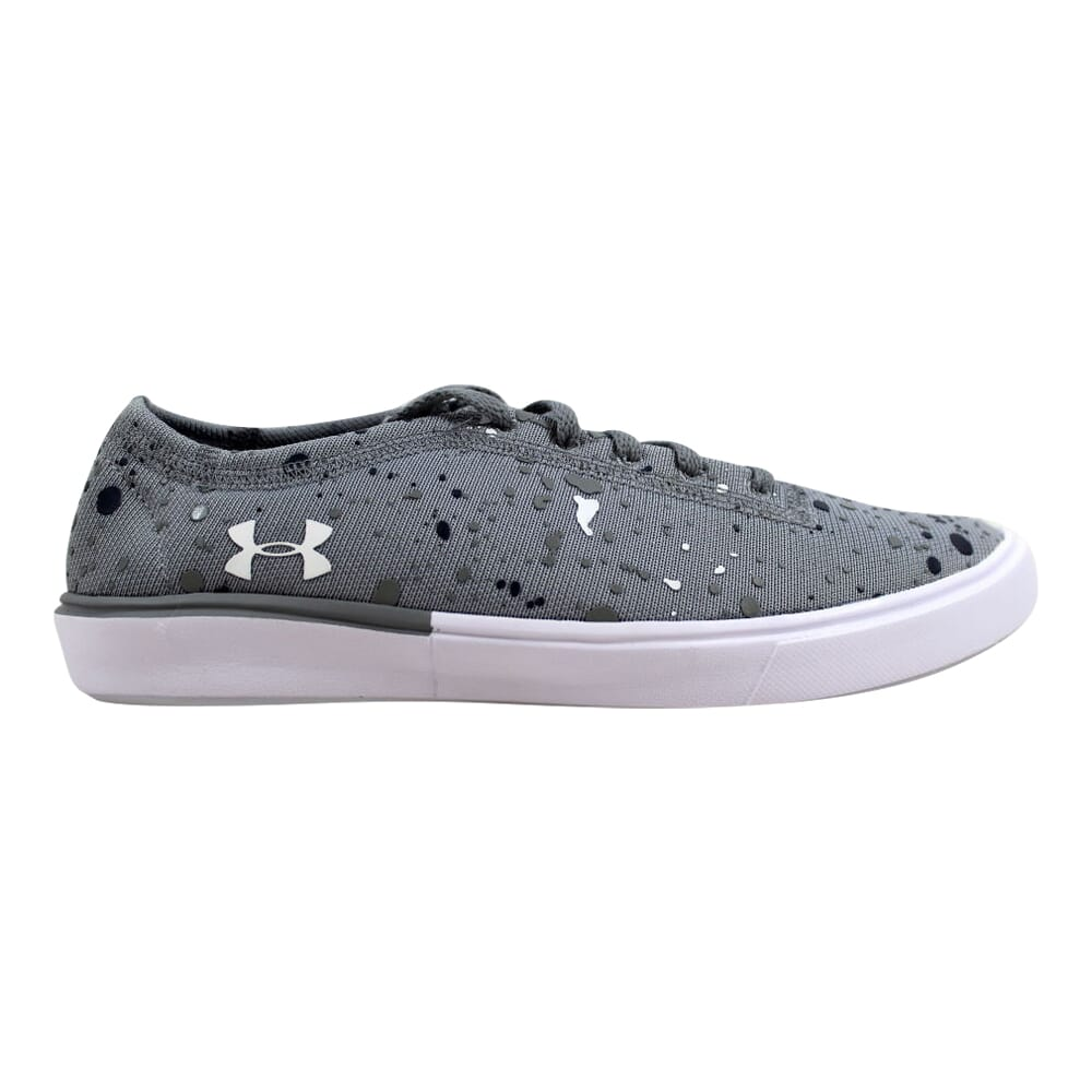 Under Armour GGS Kick it 2 Splatter Stealth Grey/White 1301971-035 Grade-School