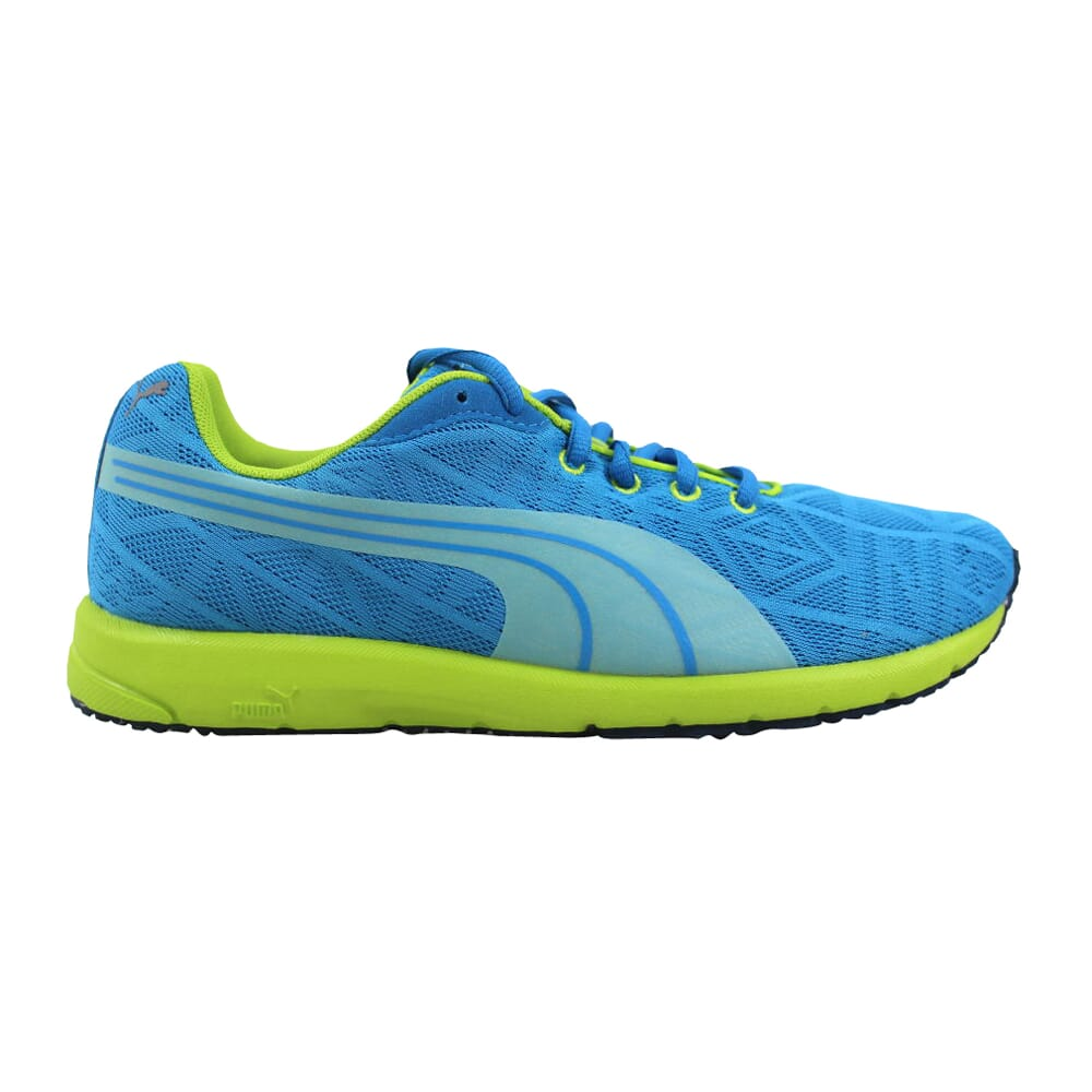 Puma Narita V2 Jr Methyl Blue/Lime Green 187254 06 Grade-School