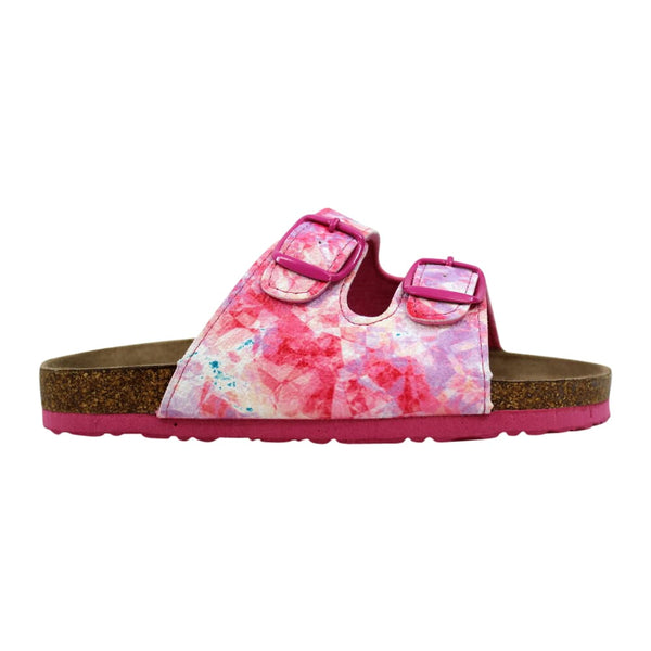 Northside Mariani Sandal Pink White/Brown 214031G678 Pre-School
