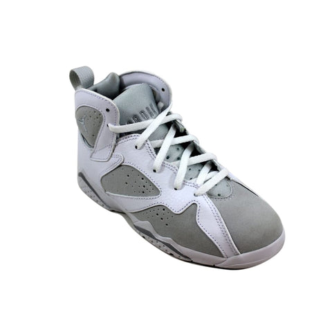 Nike Air Jordan VII 7 Retro BP White/Metallic Silver Pure Money 304773-120 Pre-School