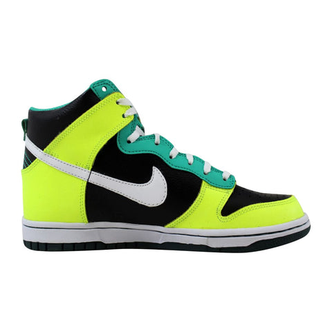 Nike Dunk High Black/White-Dark Atomic Teal 308319-037 Grade-School