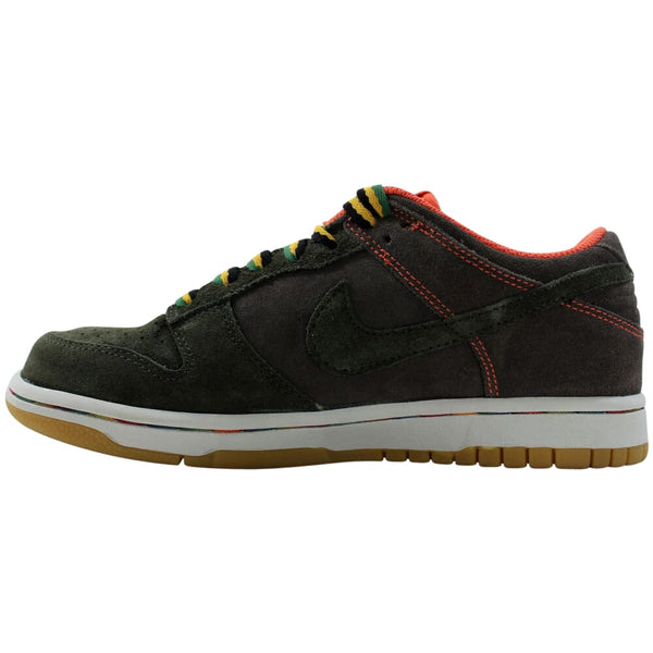 Nike Dunk Low Newsprint/Dark Army  308608-032 Women's