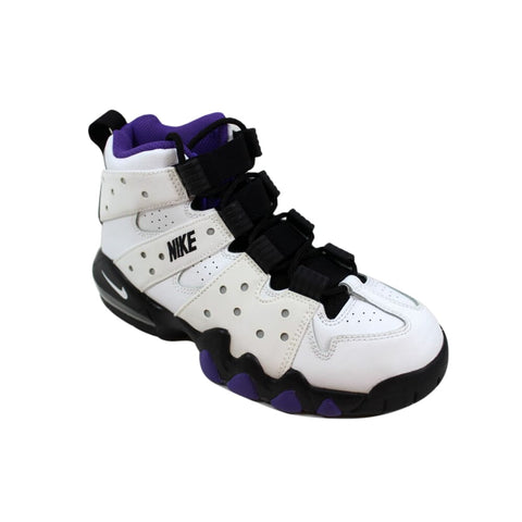 Nike Air Max CB '94 White/Black-Pure Purple  309560-105 Grade-School