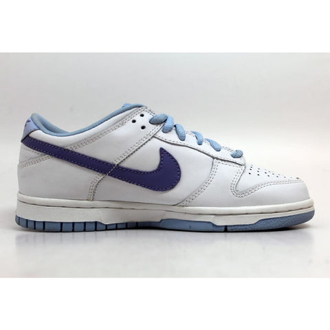 Nike Dunk Low White/Grape Cooler-Light Marine 309601-152 Grade-School
