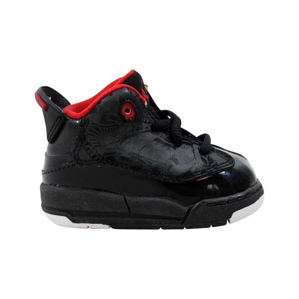 Nike Air Jordan Dub Zero Black/Varsity Red-White  311072-061 Toddler