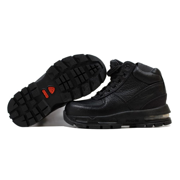 Nike Air Max Goadome Black/Black-Metallic Silver  311568-001 Pre-School