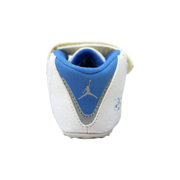Nike Air Jordan XXI 21 Low White/University Blue-Silver  313635-142 Toddler