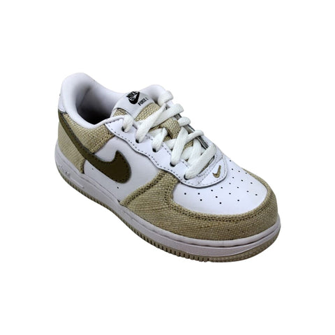 Nike Force 1 White/Khaki-Birch  314194-121 Toddler