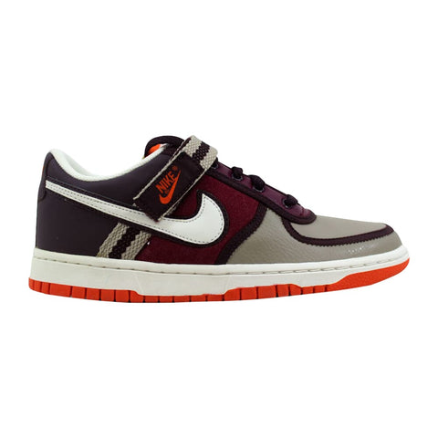 Nike Vandal Low Deep Burgundy/Sail-Orange Blaze-Deep Granite  314675-611 Grade-School