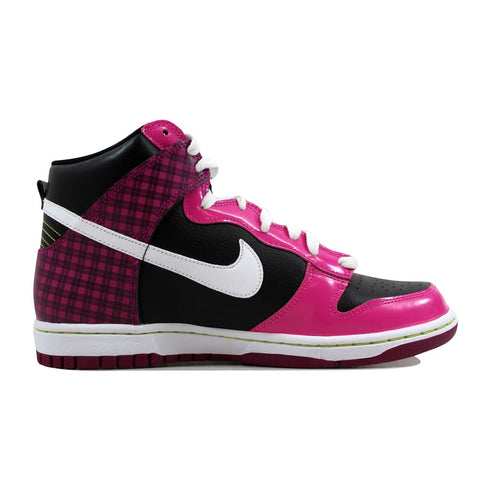 Nike Dunk High Black/White-Desert Pink 316604-008 Grade-School