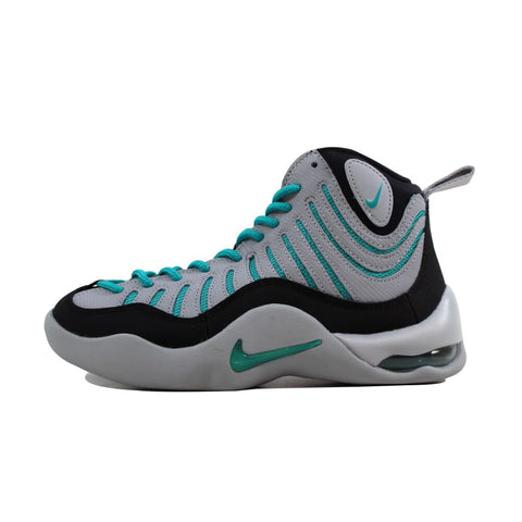 Nike Air Bakin' Black/Turbo Green-Wolf Grey 316759-003 Grade-School