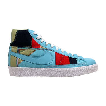 Nike Blazer Mid Premium Powder Blue/Powder Blue-White-Red 316959-441 Women's