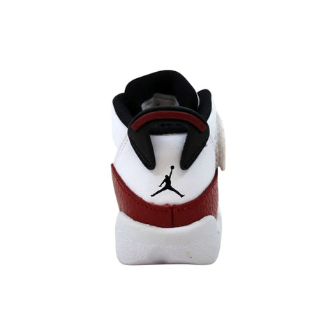 Nike Air Jordan 6 Rings White/Black-Gym Red  323420-120 Toddler