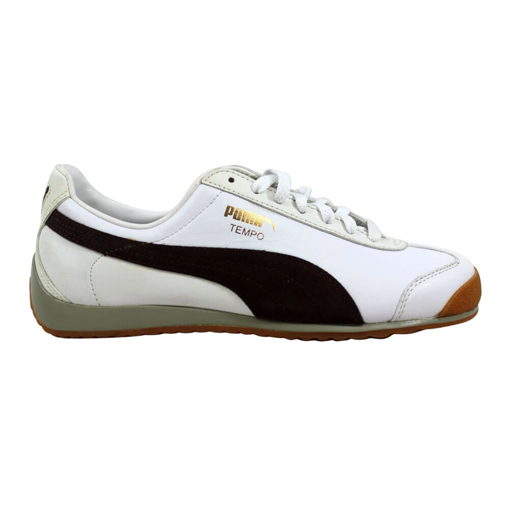 Puma Puma Tempo L White/Bracken Brown-Spray Green 343417 06