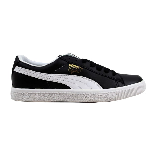 Puma Clyde Leather FS Black/White 352773-02 Men's