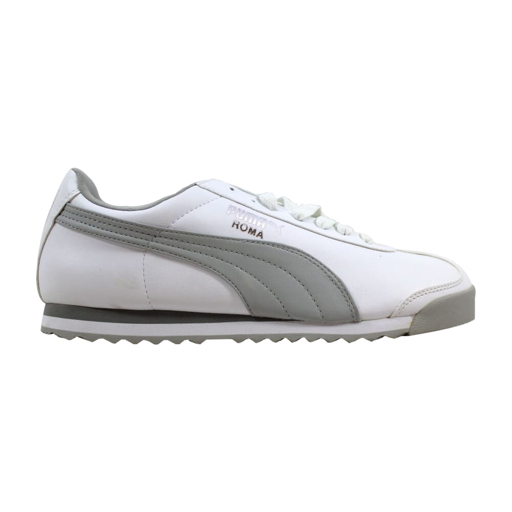 Puma Roma Basic White/Gray Violet 353572-03 Men's